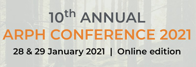 10th Annual Association for Researchers in Psychology and Health (ARPH) Conference 2021, 28 & 29 January 2021, Online edition
