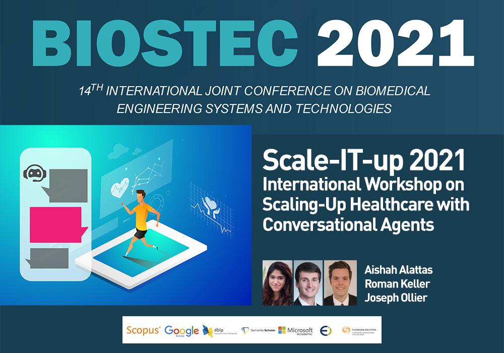 Biostec 2021 Scale it up Workshop